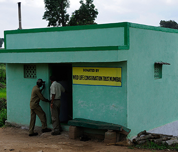 Reinforcing Protection by Equipping Anti-poaching Camps