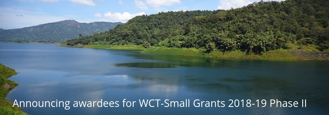 WCT Small Grants 2018-19 Phase II