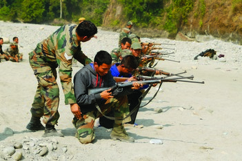Catalysing Conservation - Firearms Training for Frontline Forest Staff - WCT