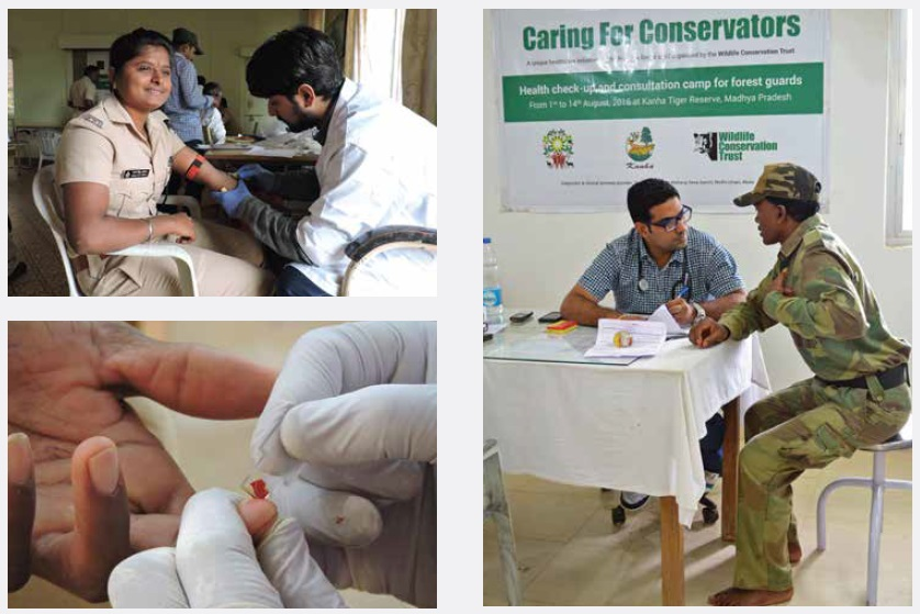 One Health - Caring for Conservators - Wildlife Conservation Trust
