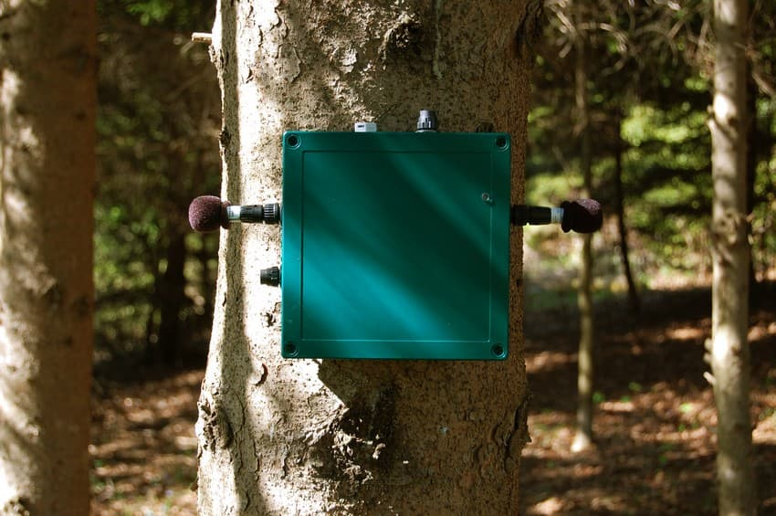 With sound recording devices, such as this acoustic recorder, and sound analysing softwares becoming more accessible, portable, affordable and cutting-edge, they are being widely used by researchers to study natural habitats over large areas.